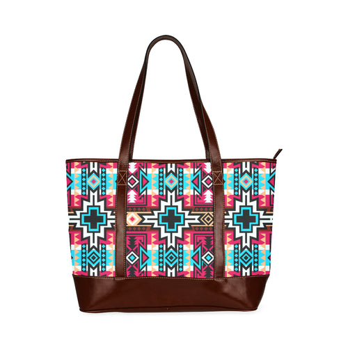 Star Blanket Sierra Tote Handbag (Model 1642)