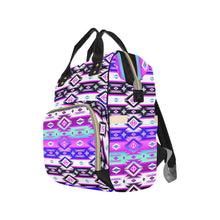 Adobe Dance Multi-Function Diaper Backpack (Model 1688) Diaper Backpack (1688) e-joyer