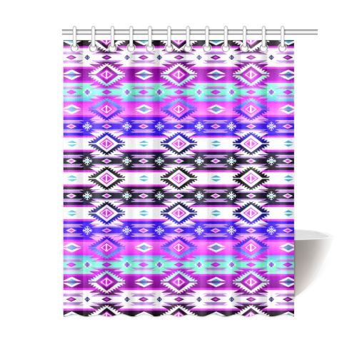 Adobe Dance Shower Curtain 60