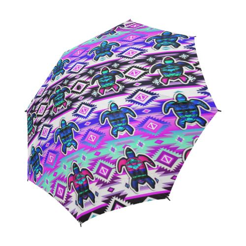 Adobe Dance Turtle Semi-Automatic Foldable Umbrella Semi-Automatic Foldable Umbrella e-joyer