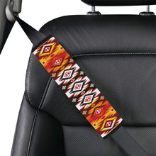 Adobe Fire Car Seat Belt Cover 7''x12.6'' Car Seat Belt Cover 7''x12.6'' e-joyer