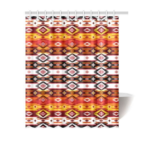 Adobe Fire Shower Curtain 60