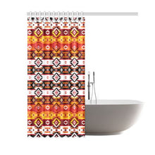 "Adobe Fire Shower Curtain 60""x72"" Shower Curtain 60""x72"" e-joyer"