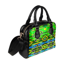 Adobe-Nature-Turtle Shoulder Handbag (Model 1634) Shoulder Handbags (1634) e-joyer