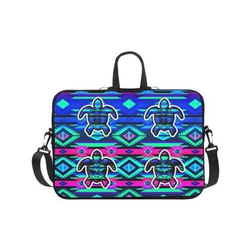 Adobe Sunset Turtle Laptop Handbags 17