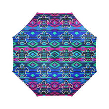 Adobe Sunset Turtle Semi-Automatic Foldable Umbrella Semi-Automatic Foldable Umbrella e-joyer