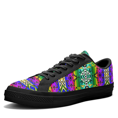 After the Northwest Rain Aapisi Low Top Canvas Shoes Black Sole 49 Dzine