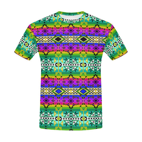 After the Northwest Rain All Over Print T-Shirt for Men (USA Size) (Model T40) All Over Print T-Shirt for Men (T40) e-joyer