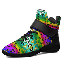 After the Northwest Rain Kid's Ipottaa Basketball / Sport High Top Shoes 49 Dzine US Child 12.5 / EUR 30 Black Sole with Black Strap