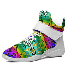 After the Northwest Rain Kid's Ipottaa Basketball / Sport High Top Shoes 49 Dzine US Child 12.5 / EUR 30 White Sole with White Strap