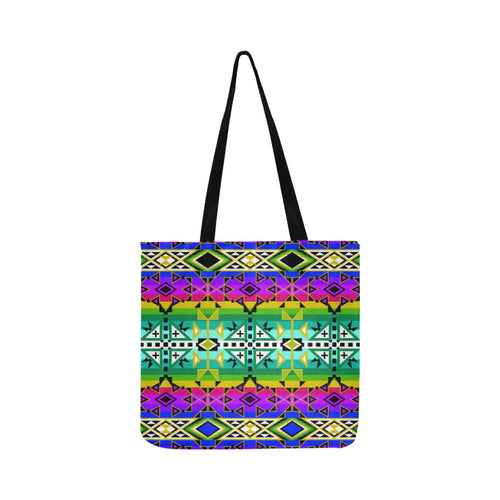 After the Northwest Rain Reusable Shopping Bag Model 1660 (Two sides) Shopping Tote Bag (1660) e-joyer