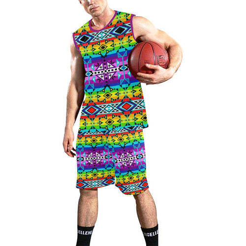 After the Rain All Over Print Basketball Uniform Basketball Uniform e-joyer