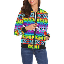 After the Rain All Over Print Bomber Jacket for Women (Model H19) All Over Print Bomber Jacket for Women (H19) e-joyer