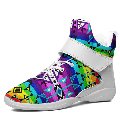 After the Rain Ipottaa Basketball / Sport High Top Shoes 49 Dzine US Women 4.5 / US Youth 3.5 / EUR 35 White Sole with White Strap