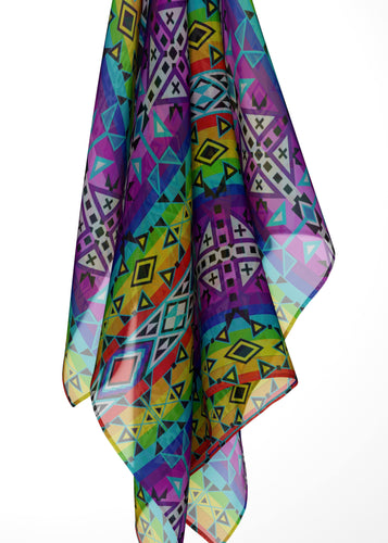After the Rain Large Square Chiffon Scarf fashion-scarves 49 Dzine