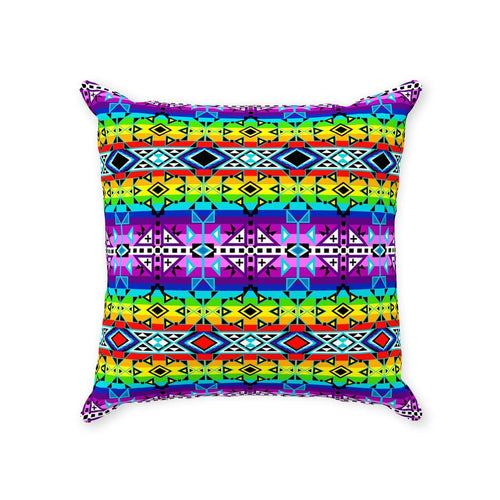 After the Rain Throw Pillows 49 Dzine With Zipper Poly Twill 14x14 inch
