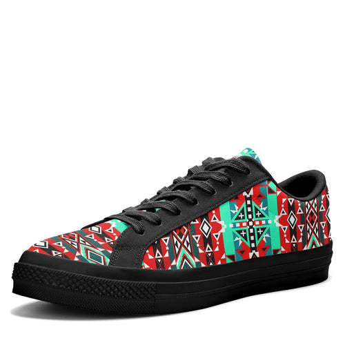 After the Southwest Rain Aapisi Low Top Canvas Shoes Black Sole 49 Dzine