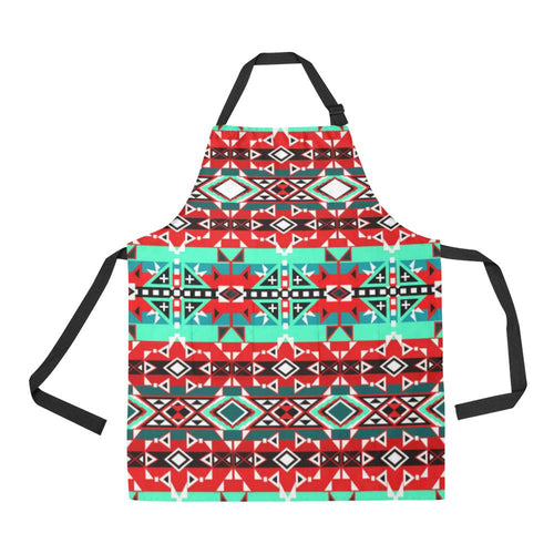 After the Southwest Rain All Over Print Apron All Over Print Apron e-joyer