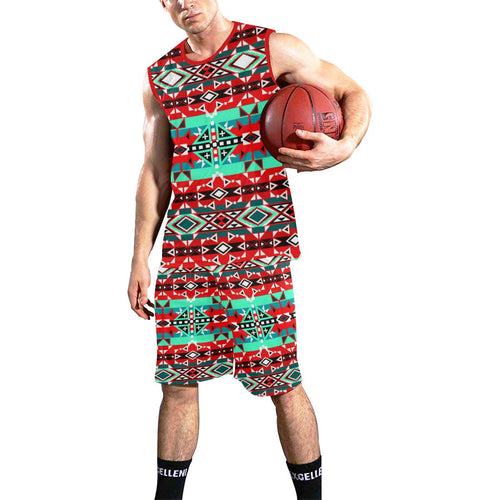 After the Southwest Rain All Over Print Basketball Uniform Basketball Uniform e-joyer