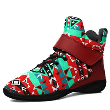 After the Southwest Rain Kid's Ipottaa Basketball / Sport High Top Shoes 49 Dzine US Child 12.5 / EUR 30 Black Sole with Dark Red Strap