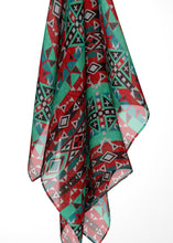 After the Southwest Rain Large Square Chiffon Scarf fashion-scarves 49 Dzine