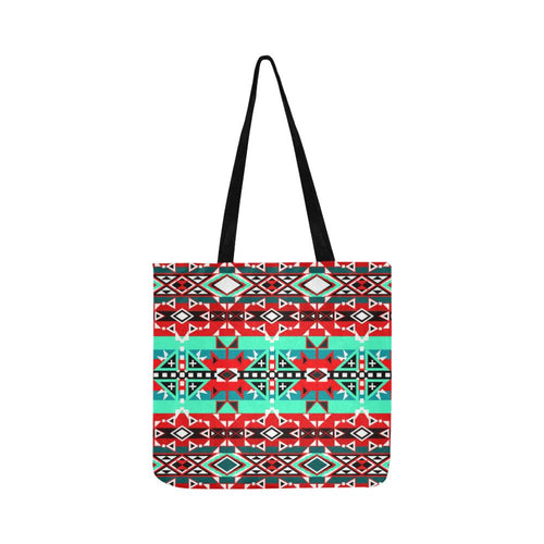 After the Southwest Rain Reusable Shopping Bag Model 1660 (Two sides) Shopping Tote Bag (1660) e-joyer