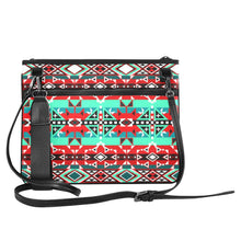 After the Southwest Rain Slim Clutch Bag (Model 1668) Slim Clutch Bags (1668) e-joyer