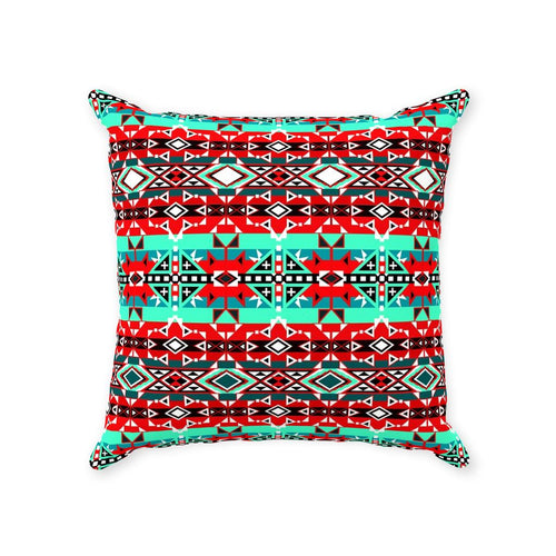 After the Southwest Rain Throw Pillows 49 Dzine With Zipper Poly Twill 14x14 inch