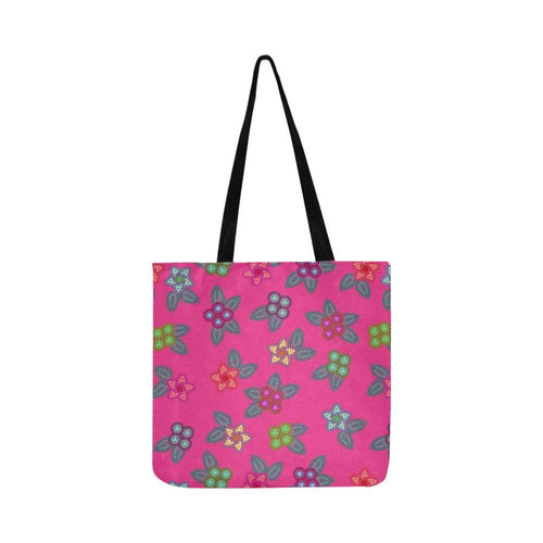 Berry Flowers Reusable Shopping Bag Model 1660 (Two sides) Shopping Tote Bag (1660) e-joyer