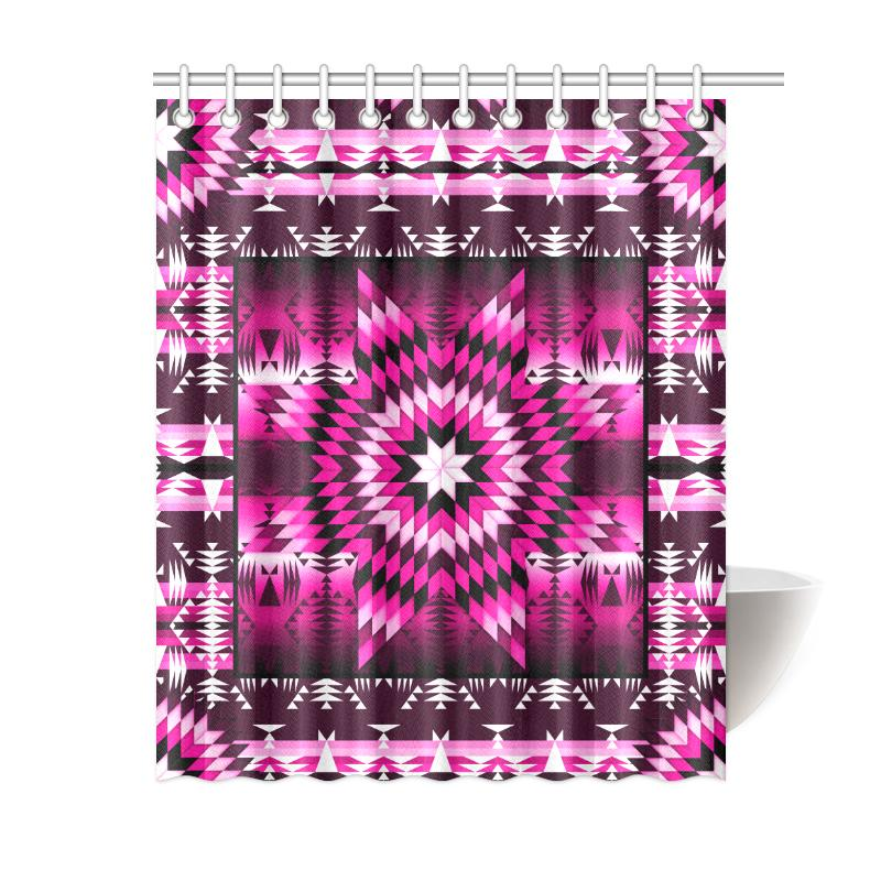 Berry Star Shower Curtain 60
