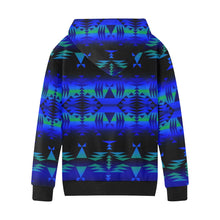 Between the Blue Ridge Mountains Kids' All Over Print Hoodie (Model H38) Kids' AOP Hoodie (H38) e-joyer