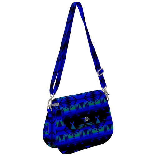 Between the Blue Ridge Mountains Saddle Handbag cross-body-handbags 49 Dzine