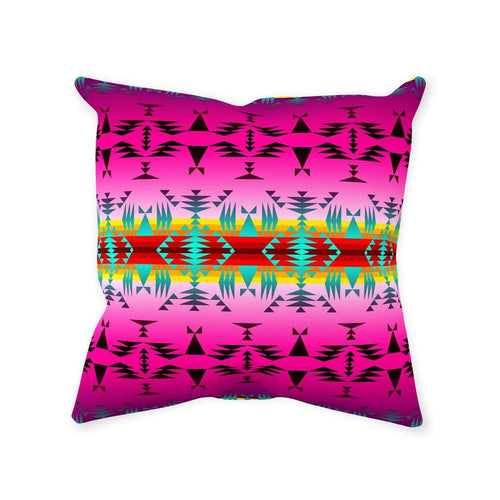 Between the Cascade Mountains Throw Pillows 49 Dzine Without Zipper Spun Polyester 14x14 inch
