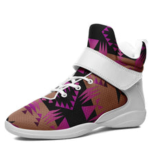 Between the Mountains Berry Ipottaa Basketball / Sport High Top Shoes - White Sole 49 Dzine US Men 7 / EUR 40 White Sole with White Strap