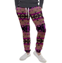 Between the Mountains Berry Men's Jogger Sweatpants FullShirt 49 Dzine