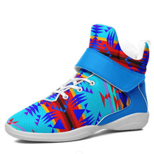 Between the Mountains Blue Ipottaa Basketball / Sport High Top Shoes - White Sole 49 Dzine US Men 7 / EUR 40 White Sole with Light Blue Strap