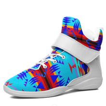 Between the Mountains Blue Ipottaa Basketball / Sport High Top Shoes - White Sole 49 Dzine US Men 7 / EUR 40 White Sole with White Strap