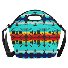 Between the Mountains Neoprene Lunch Bag/Large (Model 1669) Neoprene Lunch Bag/Large (1669) e-joyer