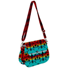 Between The Mountains Saddle Handbag cross-body-handbags 49 Dzine