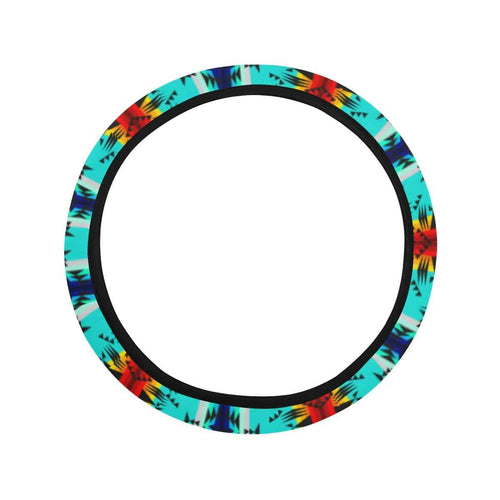 Between the Mountains Steering Wheel Cover with Elastic Edge Steering Wheel Cover with Elastic Edge e-joyer