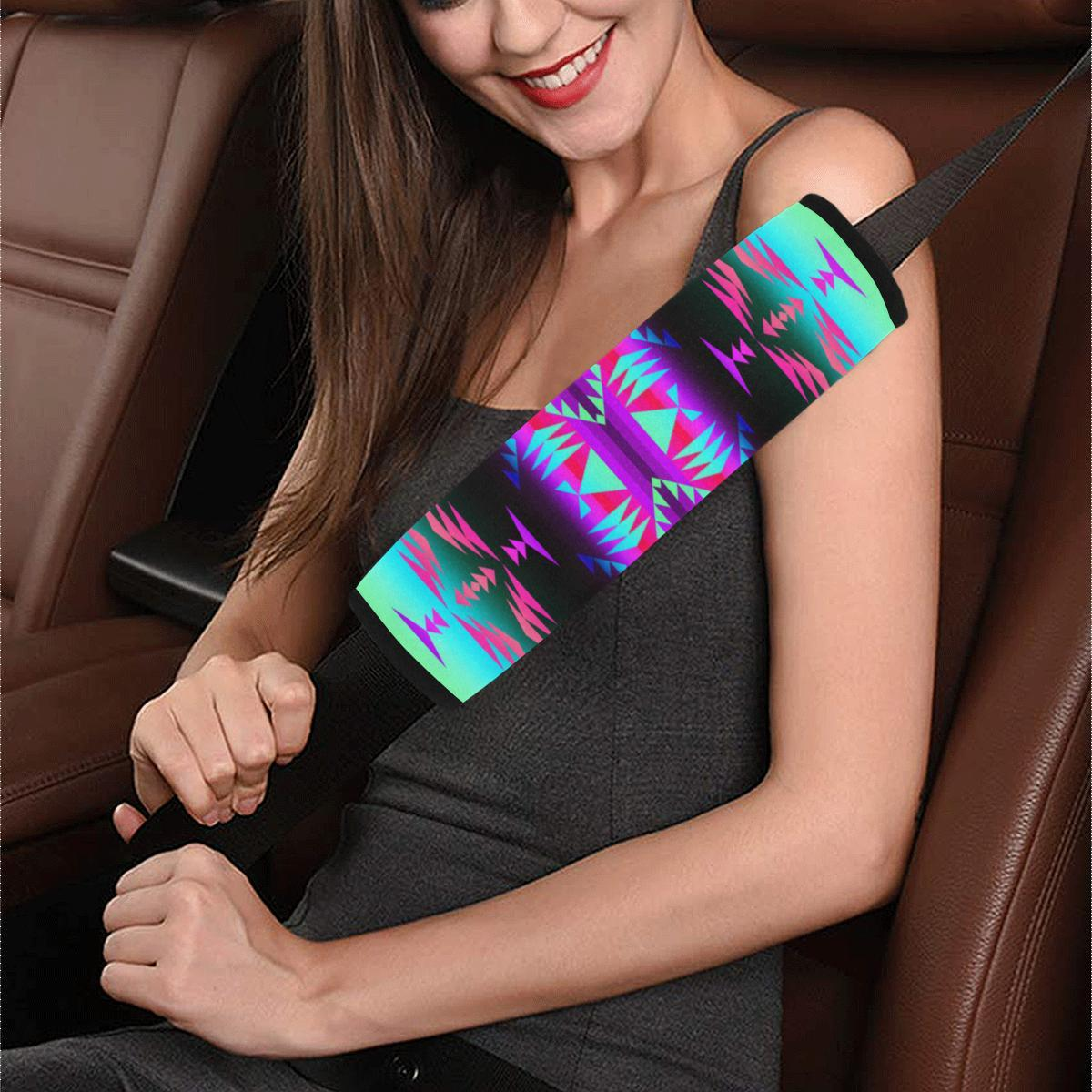 Between the Rocky Mountains Car Seat Belt Cover 7''x12.6'' Car Seat Belt Cover 7''x12.6'' e-joyer