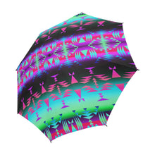 Between the Rocky Mountains Semi-Automatic Foldable Umbrella Semi-Automatic Foldable Umbrella e-joyer