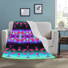 "Between the Rocky Mountains Ultra-Soft Micro Fleece Blanket 50""x60"" Ultra-Soft Blanket 50''x60'' e-joyer"