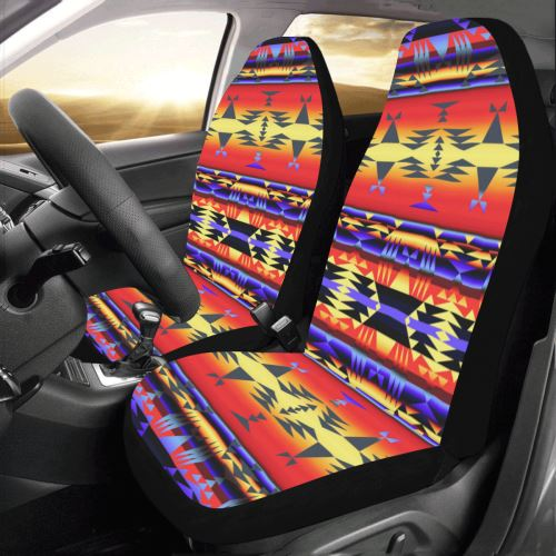 Between the San Juan Mountains Car Seat Covers (Set of 2) Car Seat Covers e-joyer