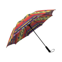 Between the San Juan Mountains Semi-Automatic Foldable Umbrella Semi-Automatic Foldable Umbrella e-joyer