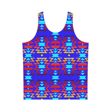 Big Pattern Fire Colors and Sky All Over Print Tank Top for Men (Model T43) All Over Print Tank Top for Men e-joyer