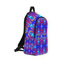 Big Pattern Fire Colors and Sky Fabric Adult Backpack (Model 1659) Casual Backpack for Adult (1659) e-joyer