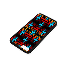 Big Pattern Fire Colors and Sky iPhone 6/6s Case iPhone 6/6s Rubber Case e-joyer