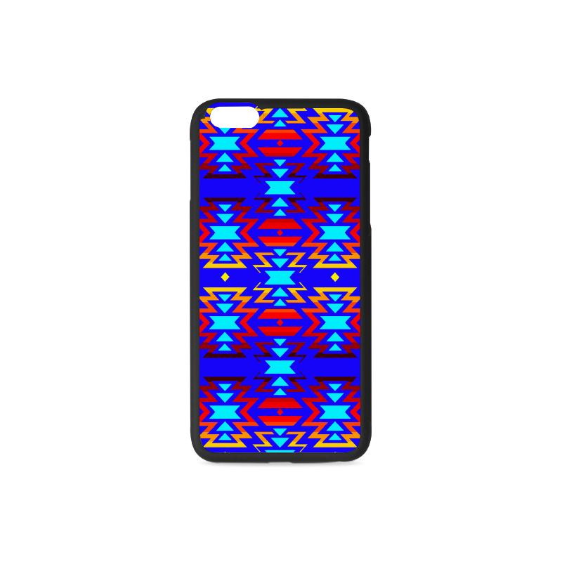 Big Pattern Fire Colors and Sky iPhone 6/6s Plus Case iPhone 6/6s Plus Rubber Case e-joyer