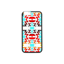 Big Pattern Fire Colors and Sky white final iPhone 6/6s Case iPhone 6/6s Rubber Case e-joyer
